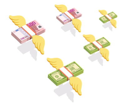 CURRENCY EXCHANGE TRANSACTIONS FOR INDIVIDUALS IN THE BANK'S CASH-DESKS